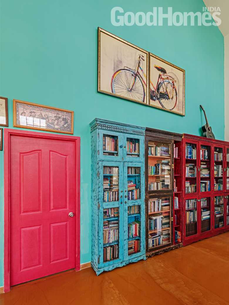 perfect colours Library design