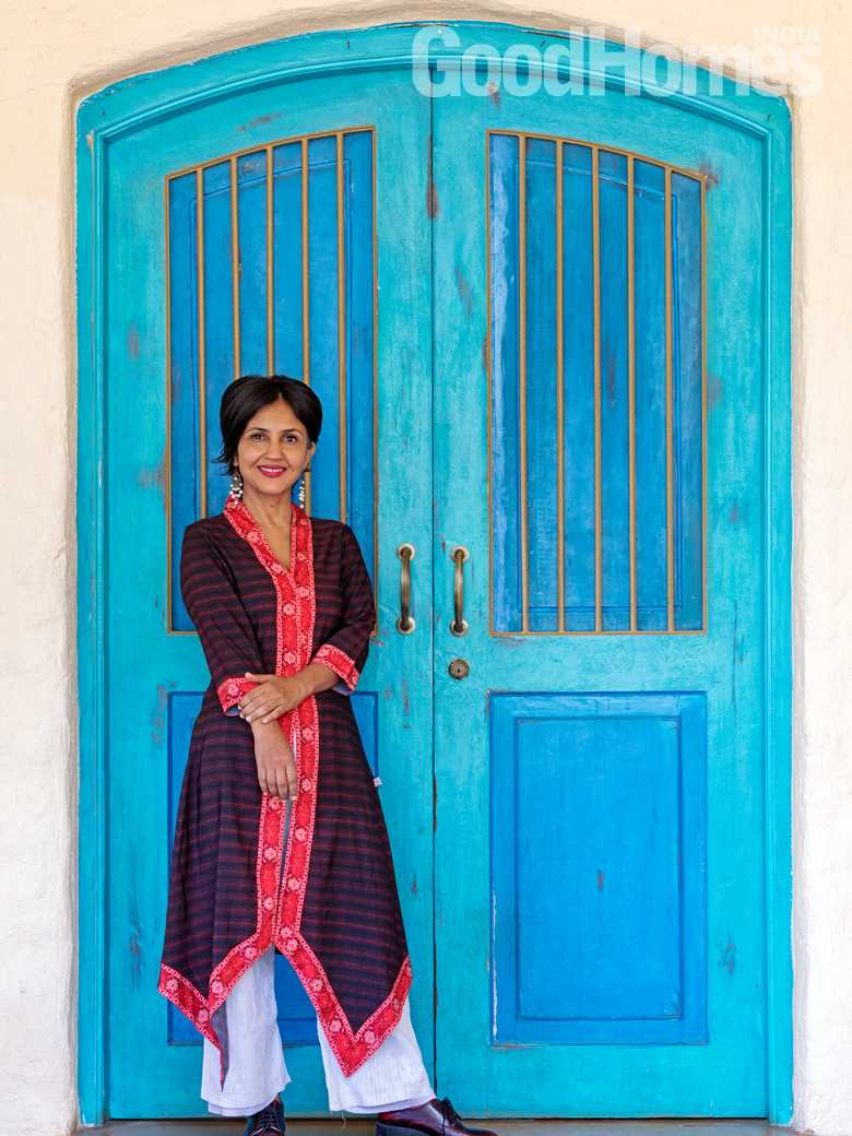 Authot Anuja Chauhan's home