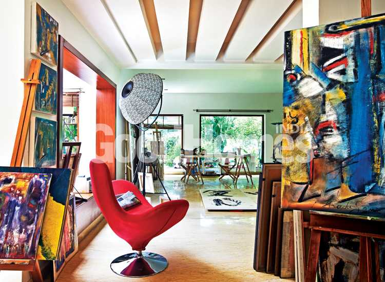 This Vibrant Artistic Home Is The Most Charming Getaway