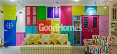 Six incredibly colourful homes