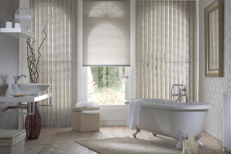 bathroom blinds luxury vertical roller blinds