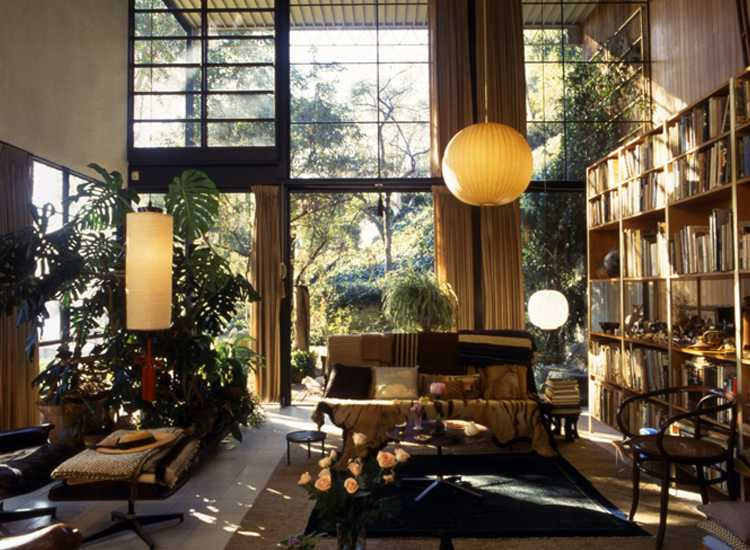 Eames House Living Room Photograph: Antonia Mulas