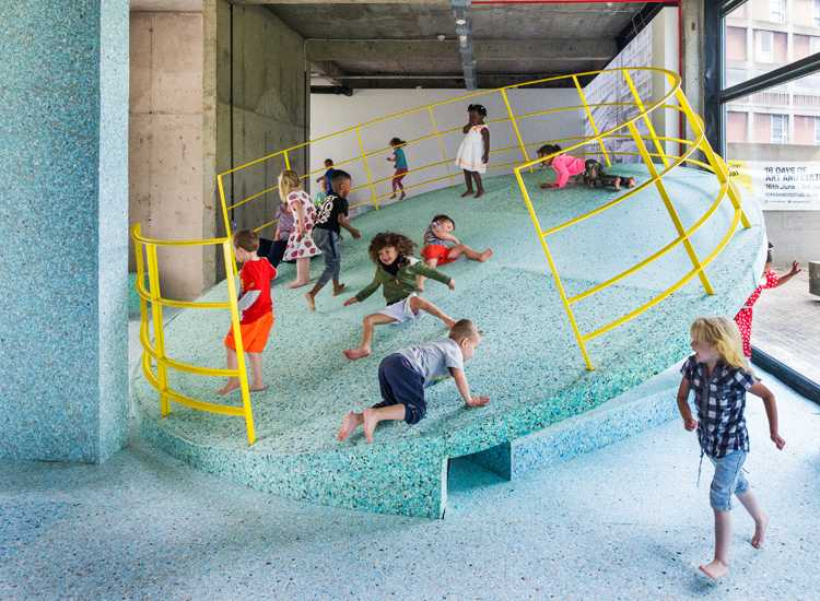 The Brutalist Playground, S1 Artspace, Sheffield Photograph: Alun Bull