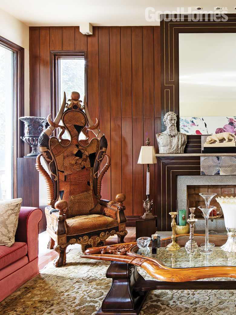 Fashion Designer Ritu Beri S New Delhi Home Feels Like A Palatial Retreat Goodhomes Co In