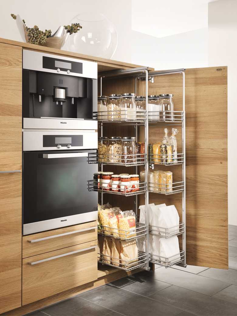 vertical Racks saves space of your small kitchen