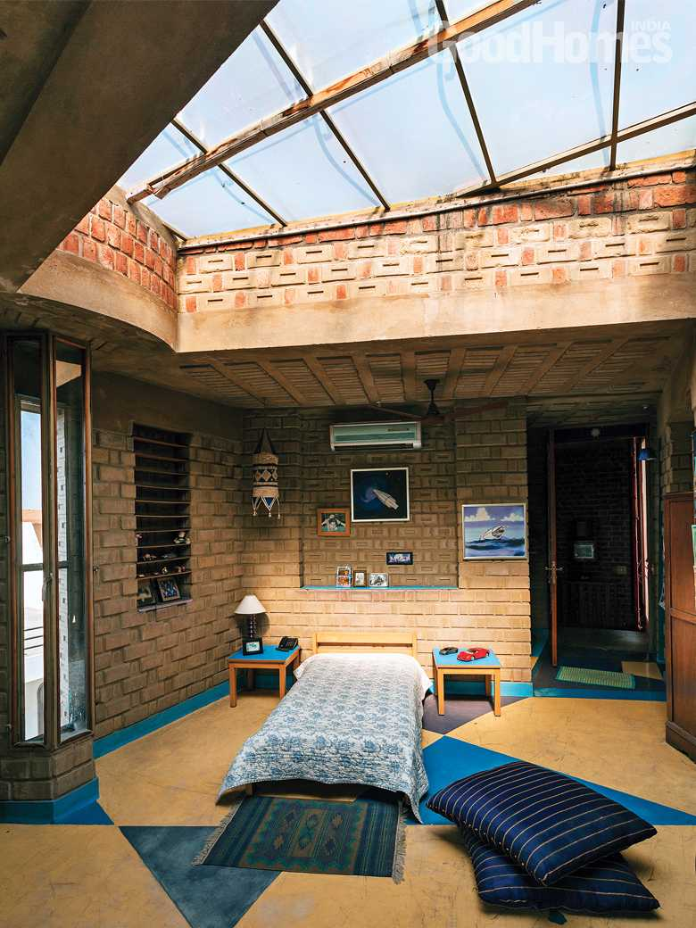 Skylit Bedroom