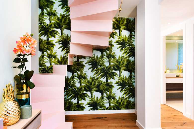 Pink Staircase
