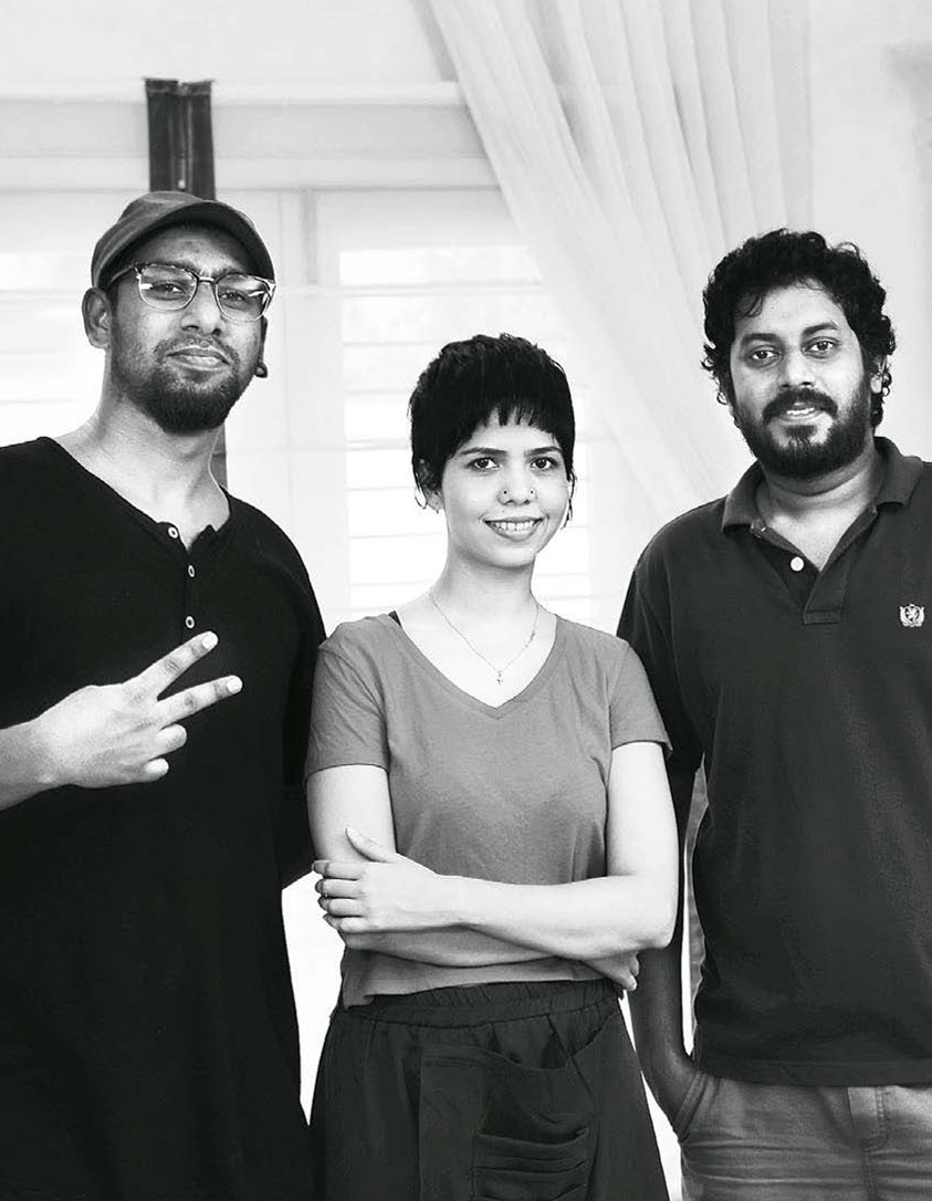 Smita Thomas and team