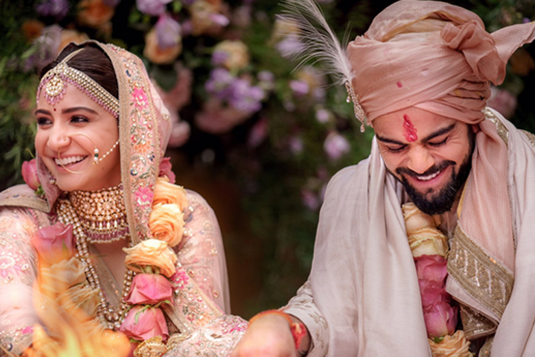 Anushka Sharma & Virat Kohli Wedding
