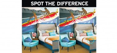 Quiz: Do these kid's bedrooms look similar?