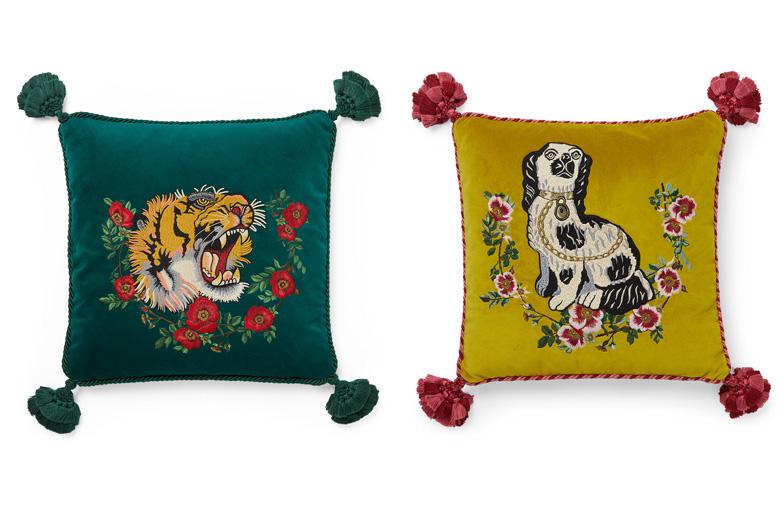 Tiger Motif Cushions