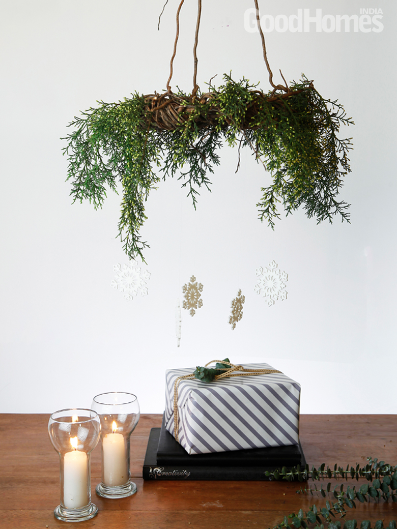 Hanging Rustic Wreath