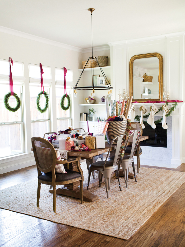 Dining Table decor for Christmas