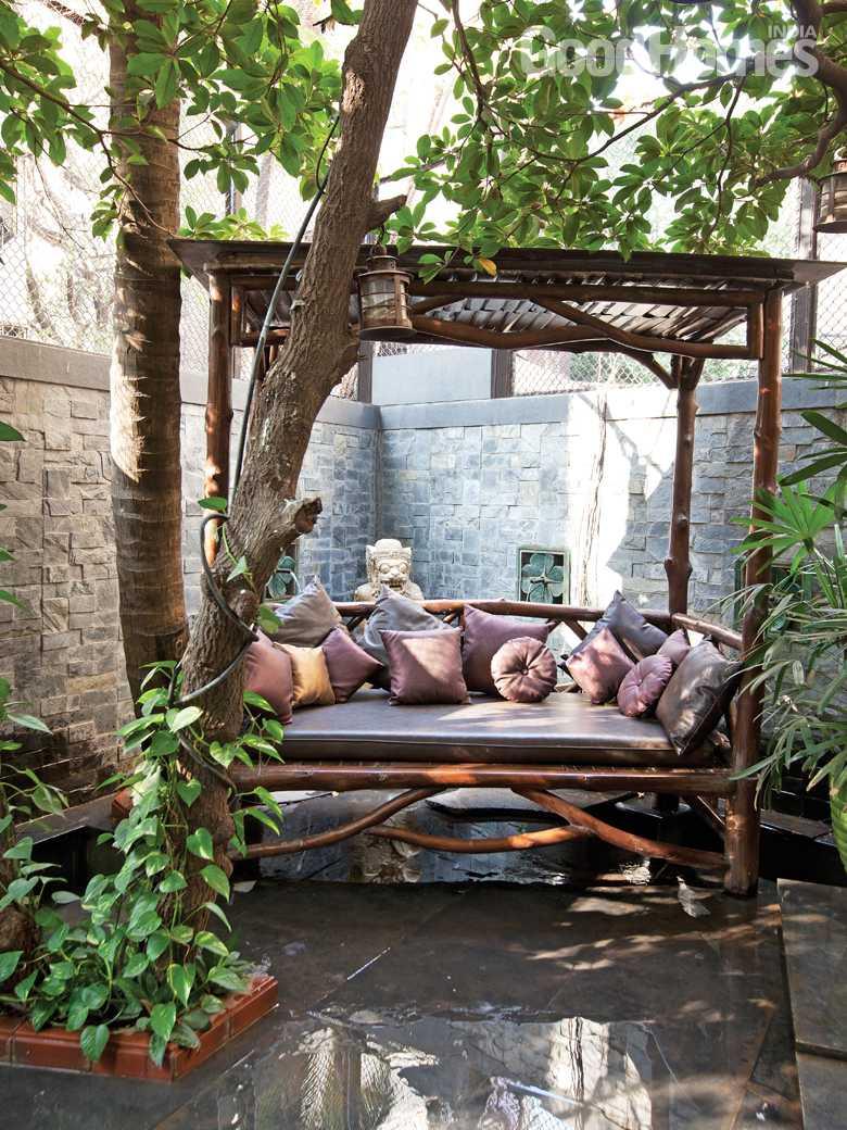 Ranveena Tandon's home garden