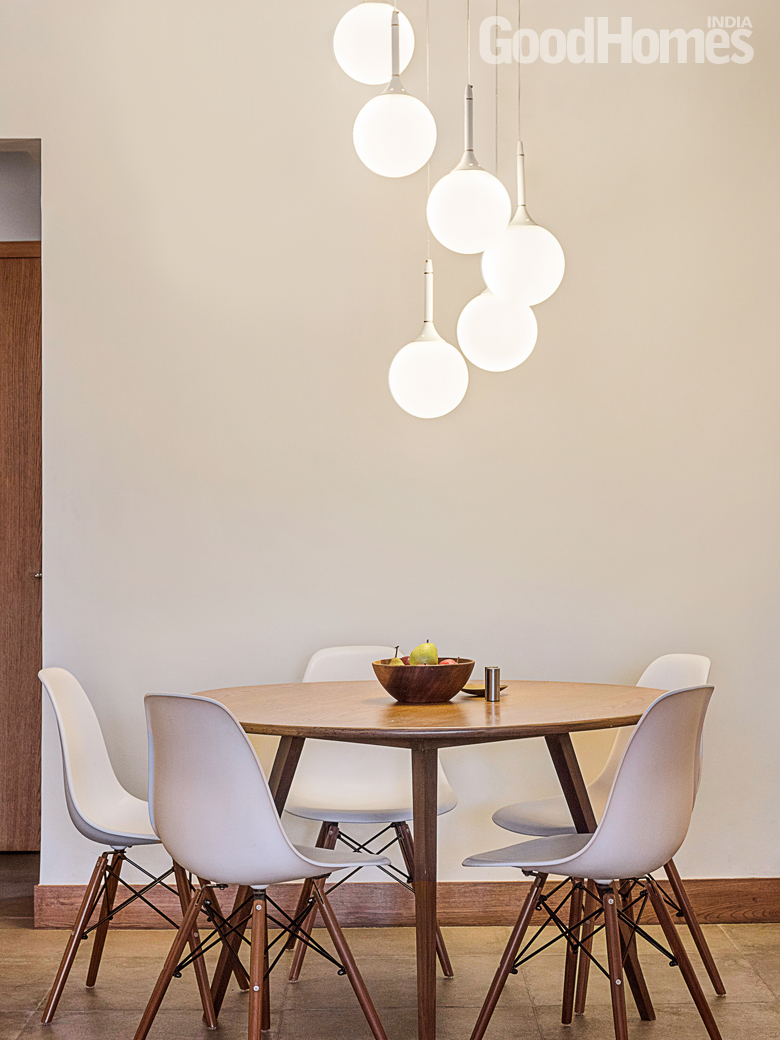 Dining area in Payal's home
