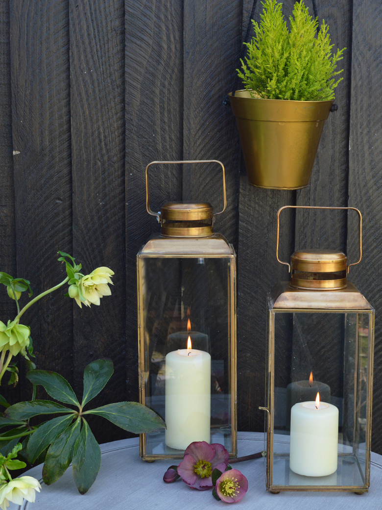 brass lanters