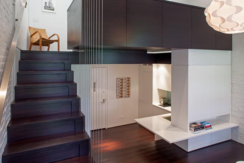 Multi-level Living room