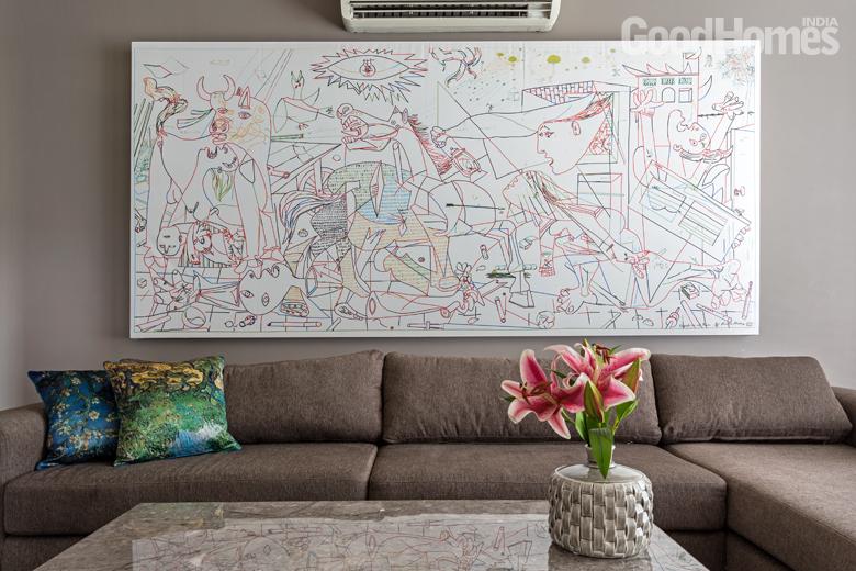 Grey Sofa Room