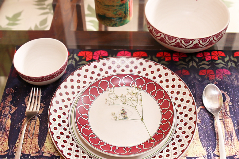 Table settings by India Circus