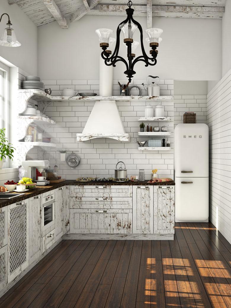 The Vintage Look Kitchen Design Ideas