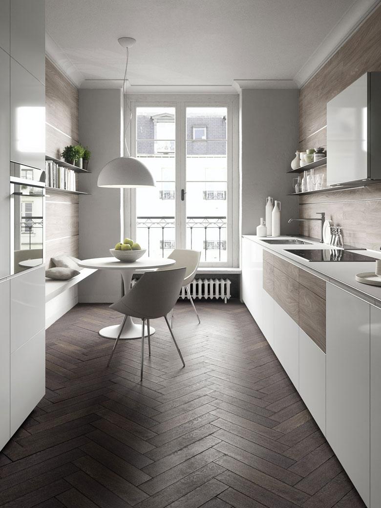 White and Bright Kitchen Design Ideas