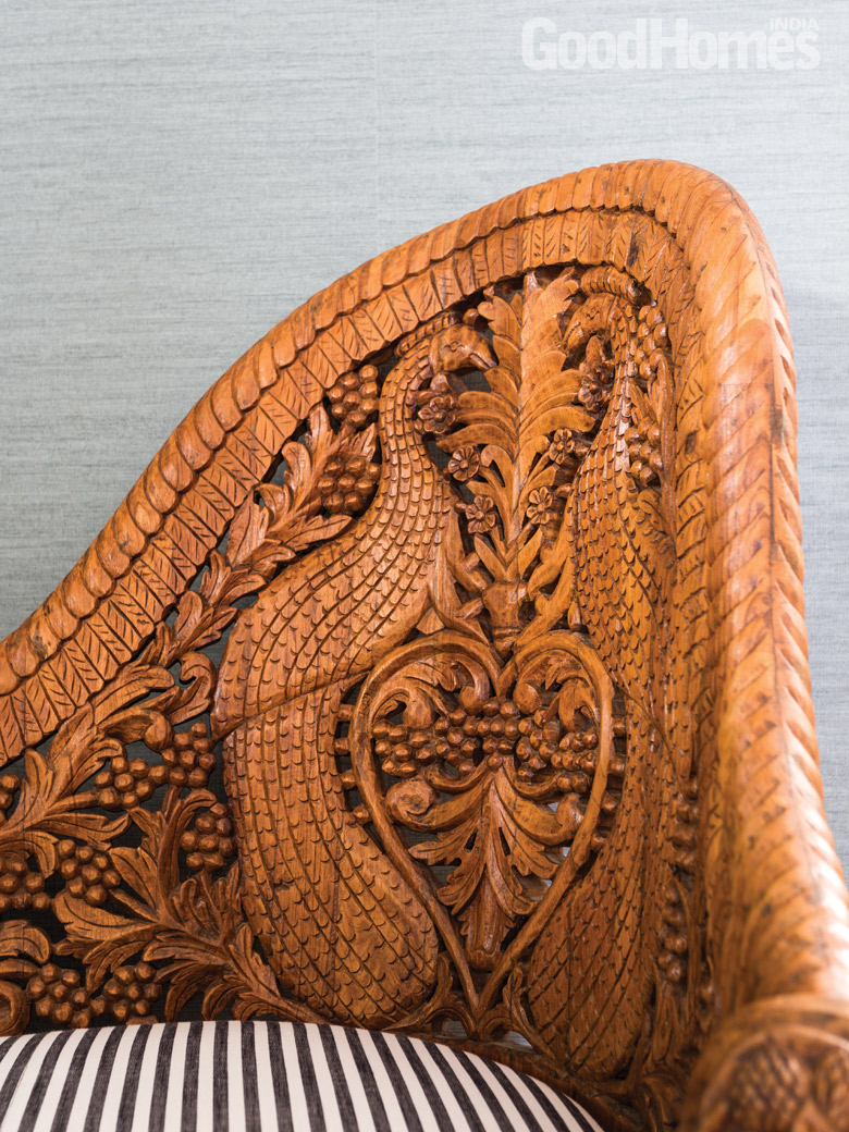 Wood Carving Sofa