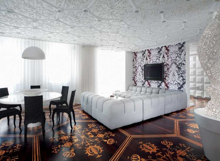 Luxurious Living room by Marcel Wanders