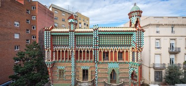 The First House Designed by Antoni Gaudi
