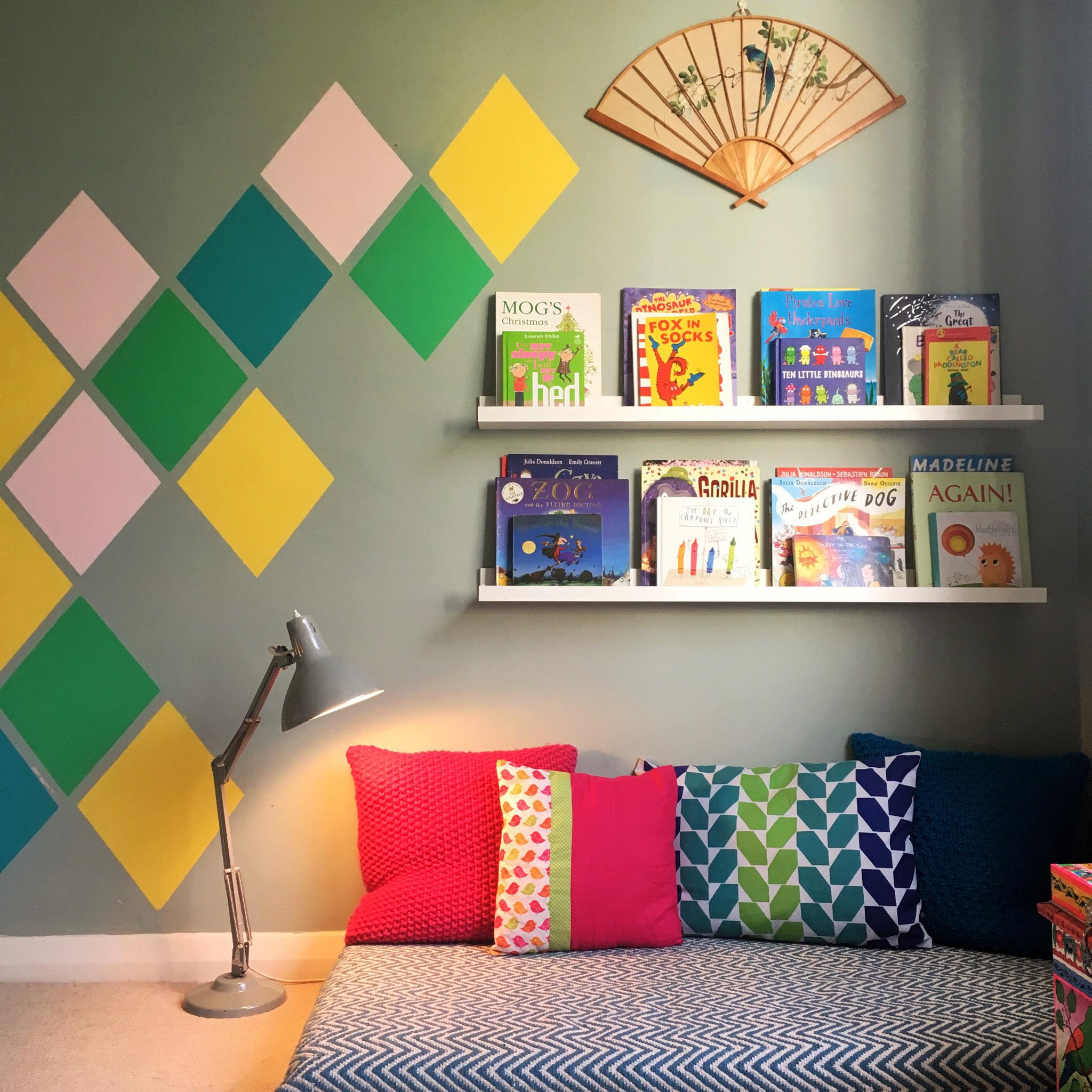 Kids Room reading nook