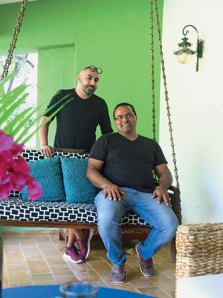 Designer Krsna Mehta & Nitin Mongia