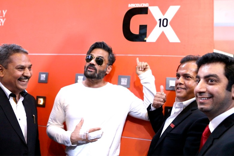Suniel Shetty at launch
