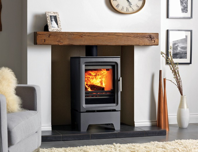 Purevision 5kW Freestanding Stove with stand