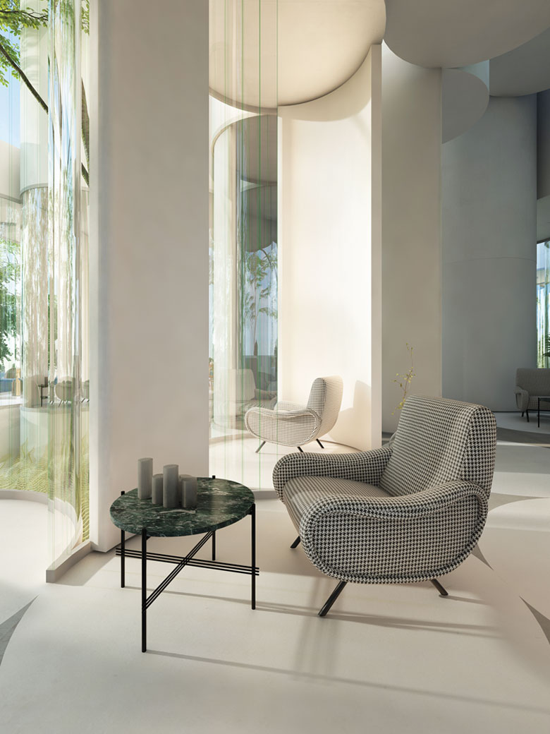 Cylinder House Interiors