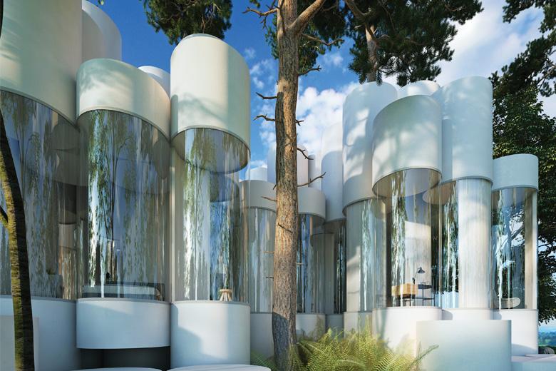 Cylinder House