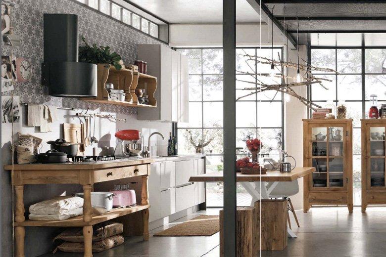 Industrial Style Kitchen Design Ideas