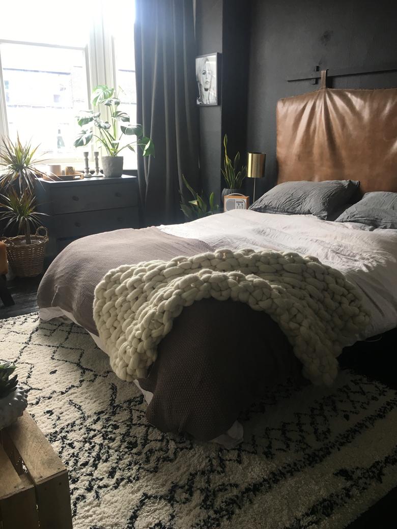 Master Bedroom of Interior Stylist Kerry Lockwood