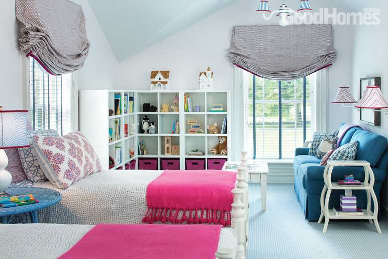 Children's bright airy bedroom