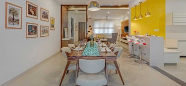 An Earthy Palette for a Family Home