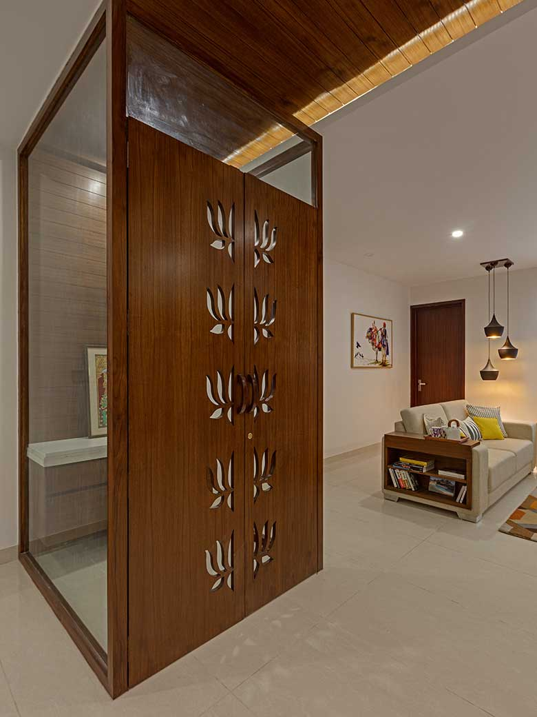 An Earthy Palette For A Family Home Goodhomes India
