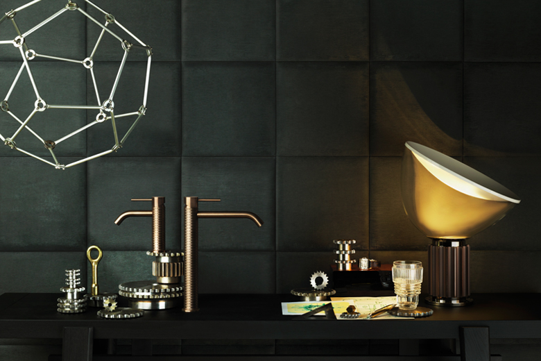 Metallic Bath Faucets