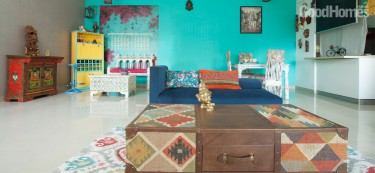 A Bohemian Home that Spreads the Magic of Colours