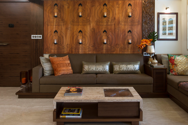 Living room of Architect Dipa Desai