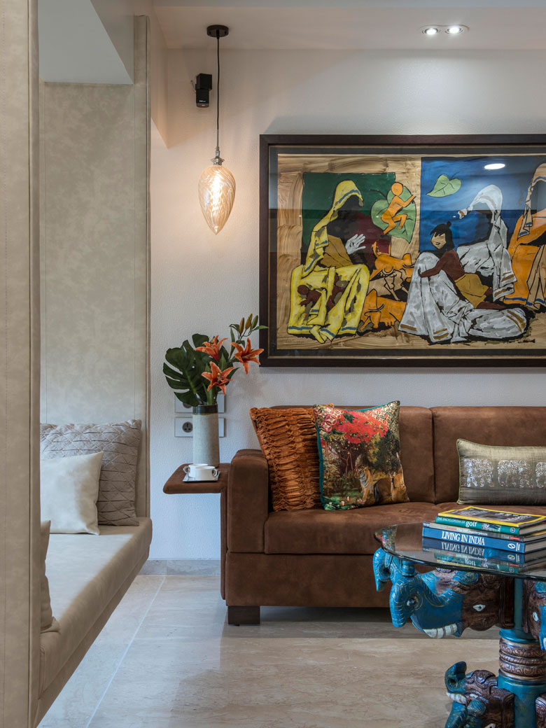 Elements that make a house a home in Architect Dipa Desai's home