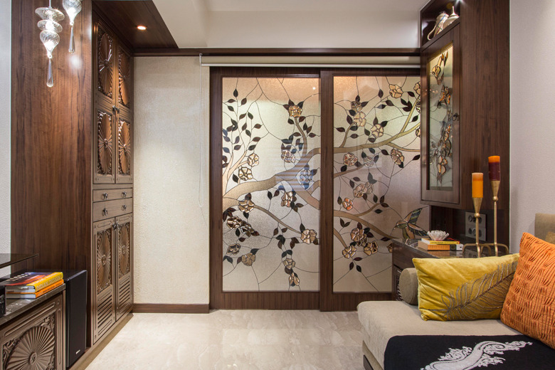 Wardrobe area in Architect Dipa Desai's home