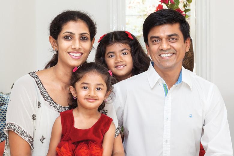 Beena and Gopal Gowda
