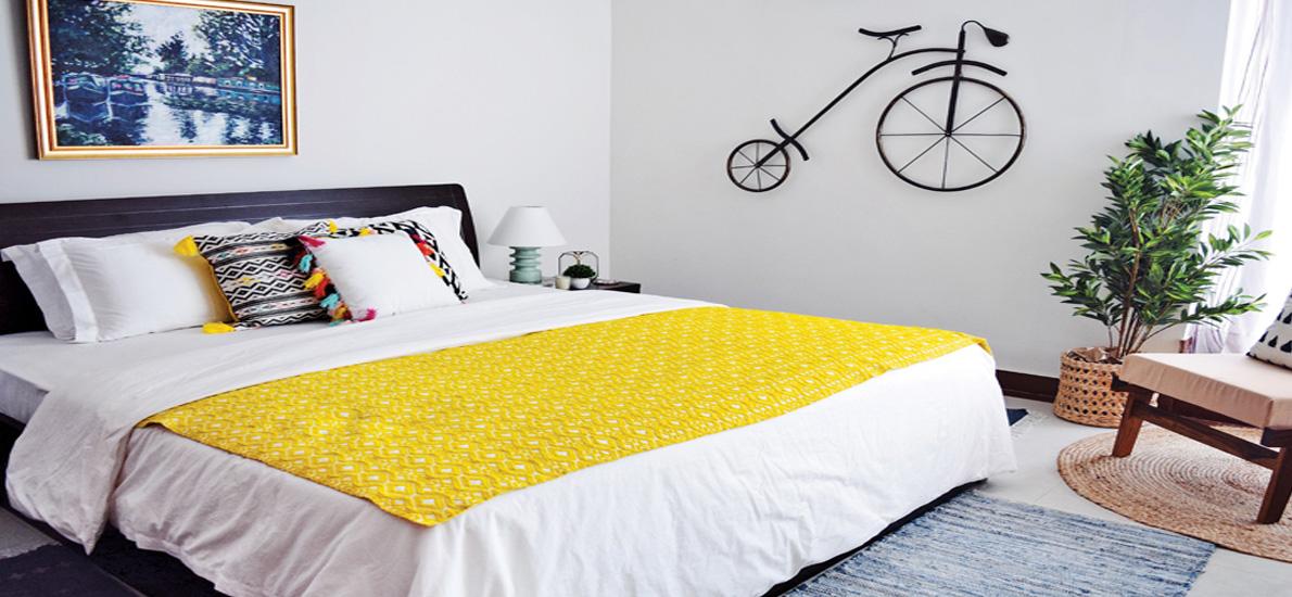 Textile Designer Sunita Yogesh's inspiring home