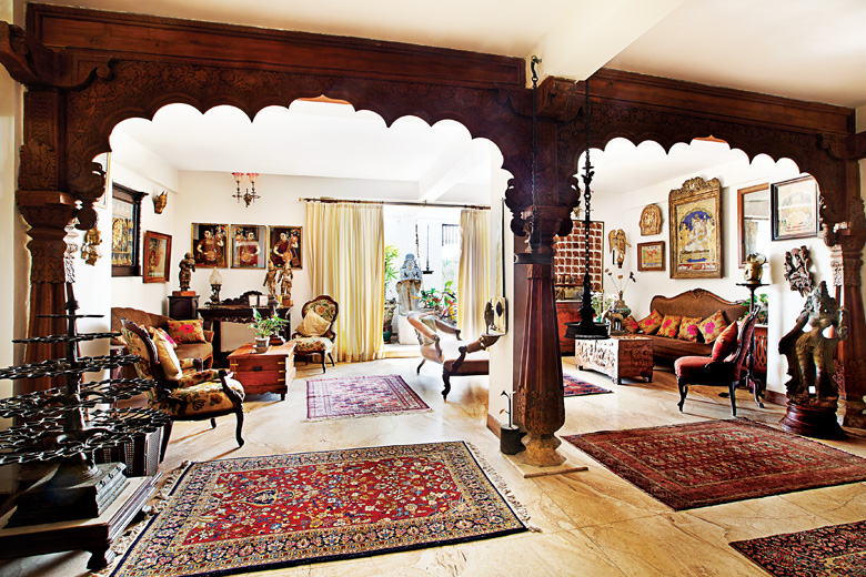 The vintage home of VenkatRaman Reddy