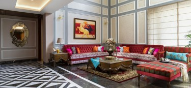 Glamour reigns supreme in this Lucknowi mansion