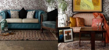 Three ways to style a muted space