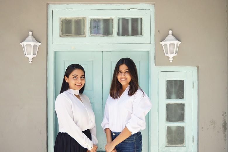 Disha and Shivani